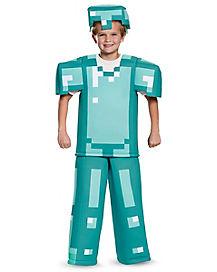 Kids Armor Costume - Minecraft