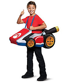 Kids Mario Ride-A-Long Costume - Mario Bros  sc 1 st  Spirit Halloween & Best Mario Bros Halloween Costumes | Luigi Halloween Costumes ...