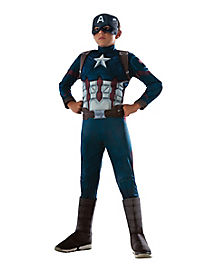 Kids Captain America Costume Deluxe - Captain America 3: Civil War