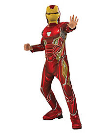Kids Iron Man Costume Deluxe - Avengers: Infinity War