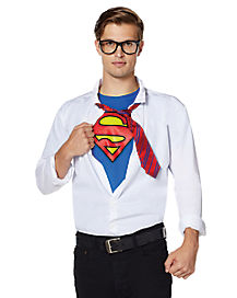 Adult Superman Shirt Kit - DC Comics