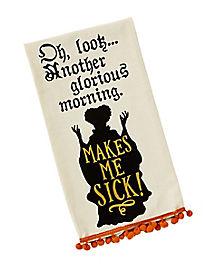 Glorious Morning Dish Towel - Hocus Pocus