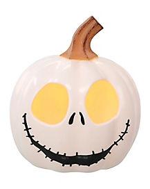 Smiling Mini Jack Skellington Pumpkin - The Nightmare Before Christmas