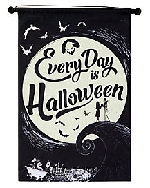 Every Day Is Halloween Sign Decorations - The Nightmare Before Christmas