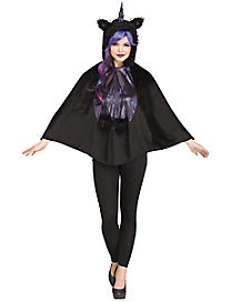 Dark Unicorn Poncho