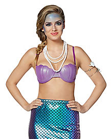 Purple Mermaid Bra