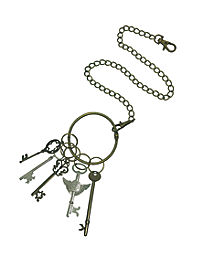 Steampunk Key Waist Chain