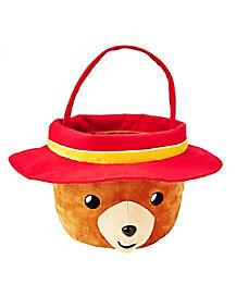 Plush Paddington Bucket