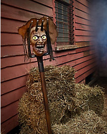 5 ft forgotten farmer animatronics decorations