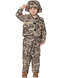 Toddler Army Ranger Costume