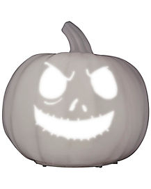 9 Inch Singing Jack Skellington Pumpkin Decorations - The Nightmare Before Christmas