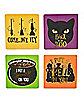 Hocus Pocus Coasters - 4 Pack