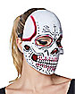 Red Sugar Skull Mask