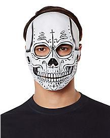 Sugar Skull Skeleton Mask