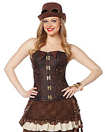 Steampunk Collared Corset