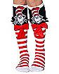 3D Cat in the Hat Socks - Dr. Seuss