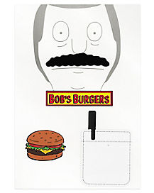 Bob's Burgers Cosplay Patch Set