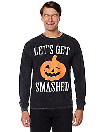 Let's Get Smashed Long Sleeve T Shirt