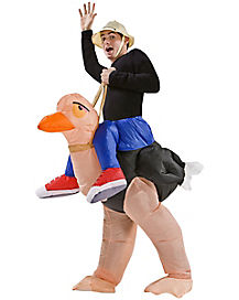 Adult Ostrich Inflatable Costume