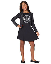 Kids Jack Skellington Dress Costume - The Nightmare Before Christmas