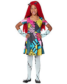 Kids Sally Dress Costume - The Nightmare Before Christmas