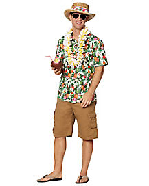 Luau Shirt Costume Kit