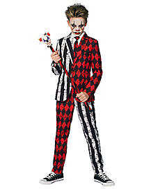 Kids Twisted Clown Party Suit