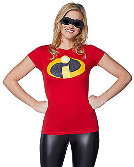 The Incredibles Glitter T-Shirt - Disney