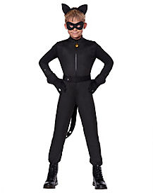 Kids Cat Noir Costume - Miraculous Ladybug  sc 1 st  Spirit Halloween & Best Miraculous Ladybug Halloween Costumes - Spirithalloween.com