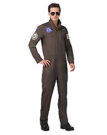 Adult Navy Flight Suit Costume - Top Gun
