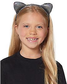 Disco Dot Cat Ear Headband