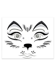 Kids Wolf Face Decal