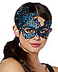 YR NAVY DLX LACE MASK