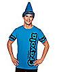 Adult Cerulean Blue Crayon Costume Kit - Crayola