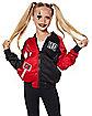 Kids Harley Quinn Bomber Jacket - DC Comics