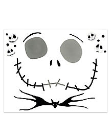 Kids Jack Skellington Face Decal - The Nightmare Before Christmas