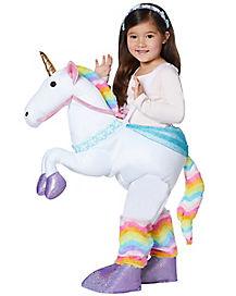Toddler Unicorn Piggyback Costume