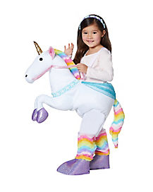 Toddler Unicorn Piggyback Costume