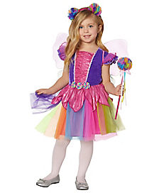 Toddler Rainbow Fairy Costume
