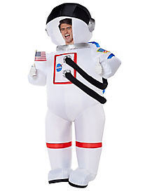 Adult NASA Space Suit Inflatable Costume