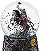 6 Inch Headless Horseman Snow Globe - Decorations