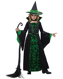 Kids Spellbound Witch Costume
