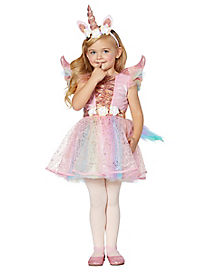 Toddler Winged Unicorn Costume