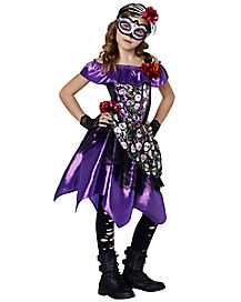 Kids Day Of The Dead Dress Costume