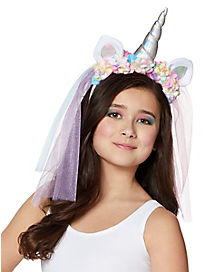 Kids Unicorn Veil