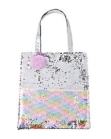 Unicorn Reversible Sequin Tote Bag