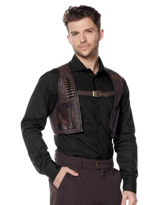 Men's Steampunk Jackets, Coats & Suits Steampunk Bullet Vest by Spirit Halloween $39.99 AT vintagedancer.com