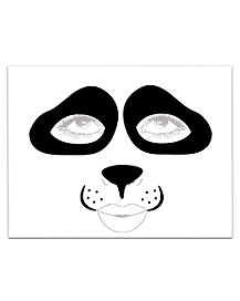 Panda Face Decal