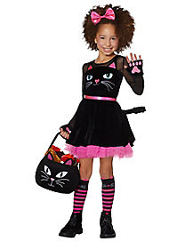 Kids Cat Dress Costume
