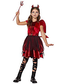 Kids Devil Costume